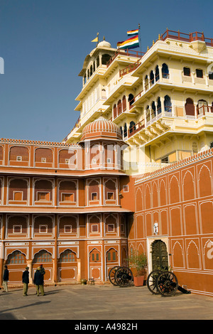 India Rajasthan Jaipur City Palace - Stock Image