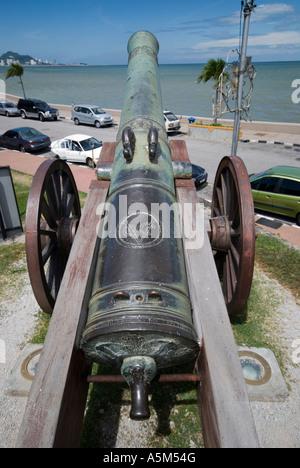 Cannon Fort Cornwallis Georgetown Penang Malaysia - Stock Image