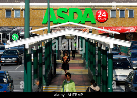Asda Clapham Junction Car Park