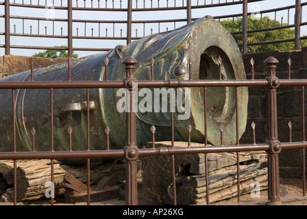 Malik e Maidan cannon Bijapur Karnataka India - Stock Image