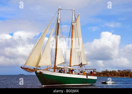 Sailing ketch stock photos sailing ketch stock images for 68 garden design gaff rigged schooner
