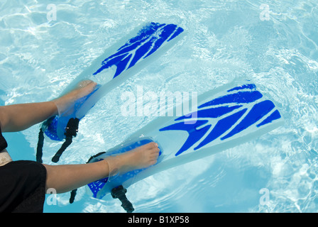 A Young Boy Swimming Stock Photos Amp A Young Boy Swimming
