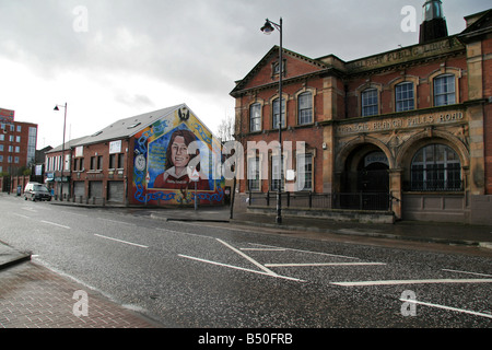 Ira stock photos ira stock images alamy for Bobby sands mural falls road