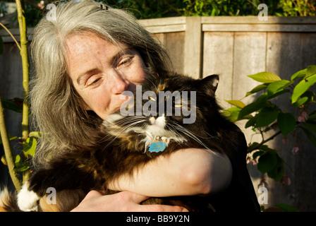 Cat Cushion Catching Hair