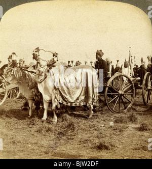 Silver cannon of the Maharaja of Baroda, Delhi, India. - Stock Image