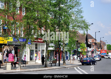 High Street  Ruislip  London Borough of Hillingdon  Greater London   England  United. Ruislip Stock Photos   Ruislip Stock Images   Alamy