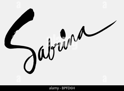 Sabrina Stock Photos & Sabrina Stock Images - Alamy Sabrina Weilharter