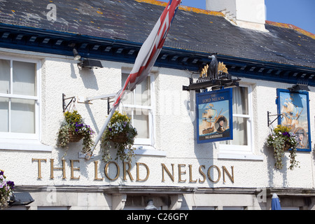 The Lord Nelson Pub Poole Harbour Front Dorset UK