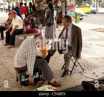 Shoe Shine Boy Getting In To The Stock Market