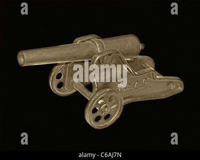 Cannon, a Showpiece - Stock Image