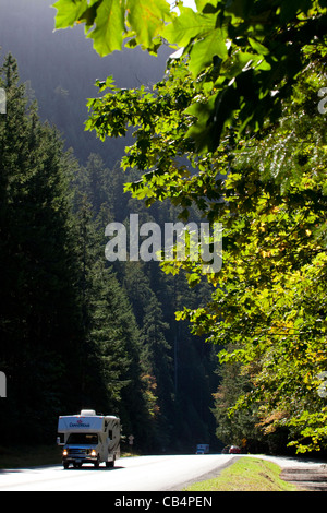 Rv stock photos rv stock images alamy for Camping jardin de mon pere
