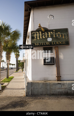 Oldest street stock photos oldest street stock images for Marion motor lodge st augustine