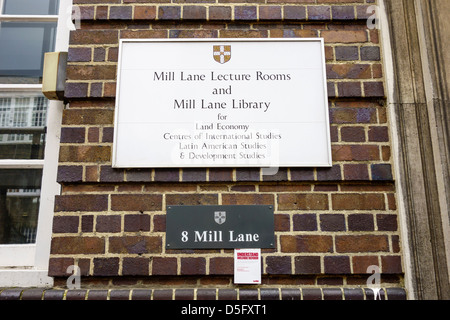 Mill Lane Lecture Room