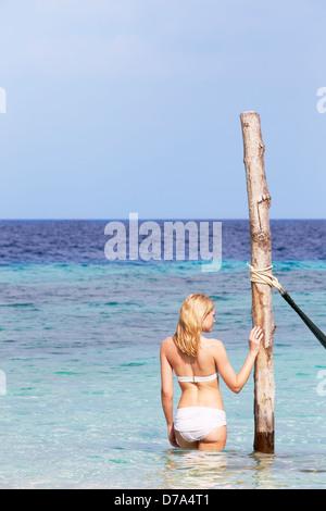 Diving atoll bikini