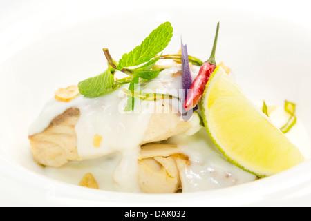 Mahi mahi stock photos mahi mahi stock images alamy for Lemon cream sauce for fish