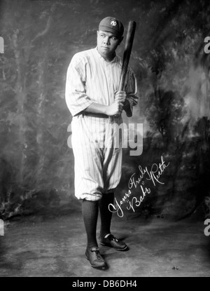 babe ruths baseball career 1895 1948 Babe ruth's wiki: george herman babe ruth jr (february 6, 1895 – august 16, 1948) was an american professional baseball player whose career in major league baseball (mlb) spanned 22 seasons, from 1914 through 1935.