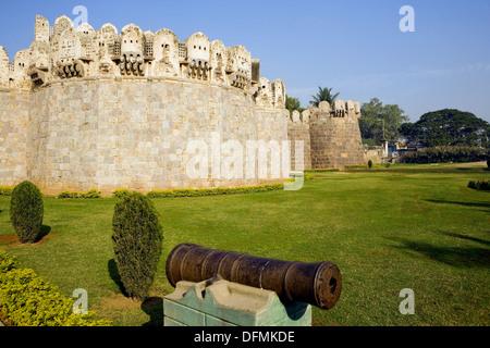 India. Hyderabad. Golconda fort - Stock Image