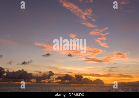 Sunsets Sunset Vanuatu Orange Backyard Ocean Golden Sky Nature ...