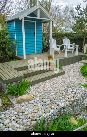 Gabion stock photos gabion stock images alamy for Small garden huts