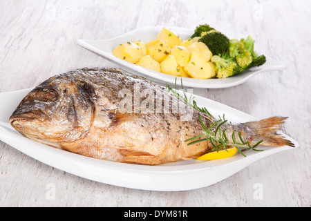 how to cook freshwater bream fish