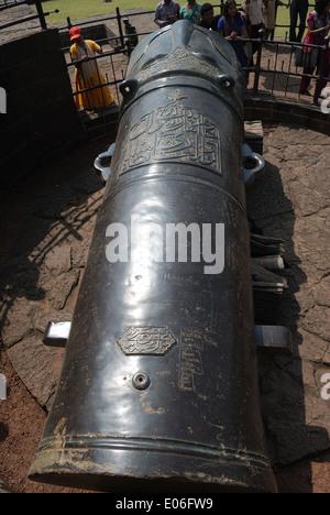 word;s heavist cannon,bijapur,india - Stock Image