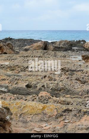 Tall Hole Erosion In Rock Big Island