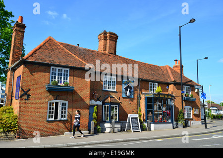 The Duck House restaurant  High Street  Ruislip  London Borough of  Hillingdon  Greater. Ruislip Stock Photos   Ruislip Stock Images   Alamy
