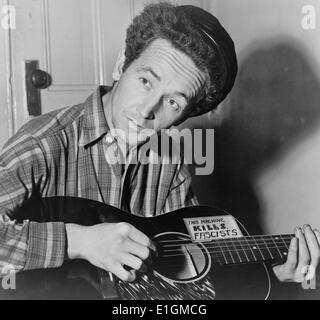 """a biography woodrow wilson guthrie Woodrow wilson """"woody"""" guthrie is arguably the most influential american folk musician of the first half of the 20th century he is best known for his folk ballads, traditional and."""