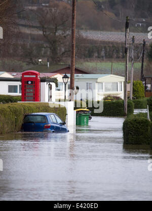 Residents Of The Little Venice Caravan Park Were Ordered To Be Evacuated From Their Homes As