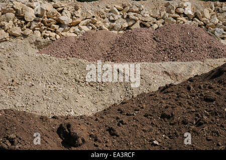 Steinbruch granit