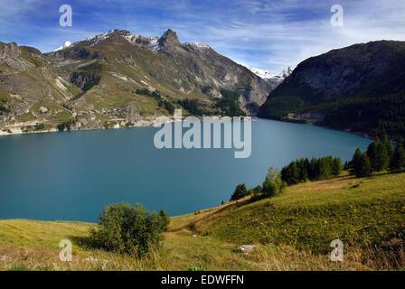 Tignes stock photos tignes stock images page 3 alamy - Lac du chevril ...