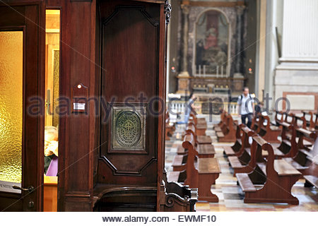 confessional stock photos confessional stock images alamy. Black Bedroom Furniture Sets. Home Design Ideas