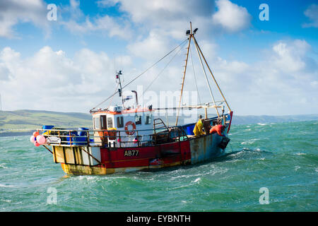 Lobster fishing fisherman stock photos lobster fishing for Small outboard motor repair near me