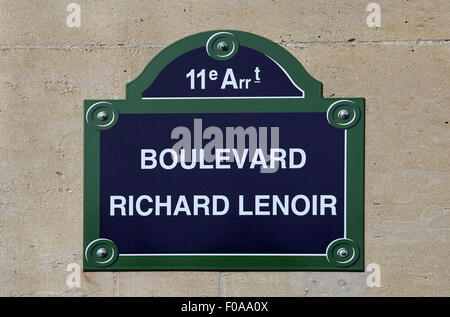 Boulevard stock photos boulevard stock images alamy for Hotel boulevard richard lenoir paris