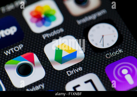 how to put iphone photos on google drive