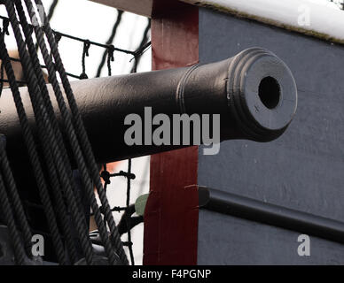 HMS Trincomalee is now part of the National Museum of the Royal Navy family. - Stock Image