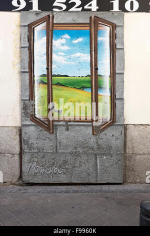 Loeil stock photos loeil stock images alamy for Clarks mural fresco