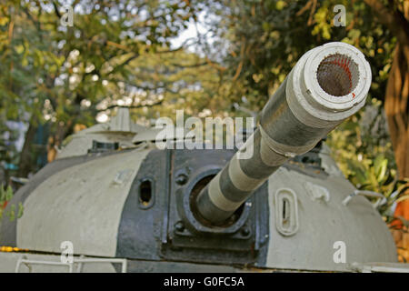 The M48 Patton Tank of the Pakistan Army used in Indo-Pakistani War of 1965 - Stock Image