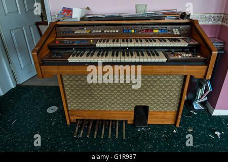 Electric Organ At Linford Park Nursing Home Hampshire UK