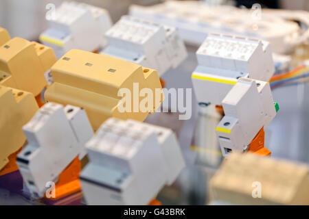 fuse stock photos fuse stock images page 9 alamy fuse box automatic fuses for installation note shallow depth of field stock