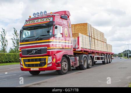 Volvo Lorry Stock Photos & Volvo Lorry Stock Images - Alamy