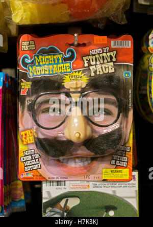 a funny face mask for sale at the halloween adventure costume shop in greenwich village - Halloween Adventure New York