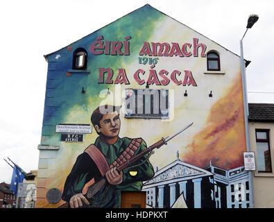 Ira irish republican army stock photos ira irish for Easter rising mural