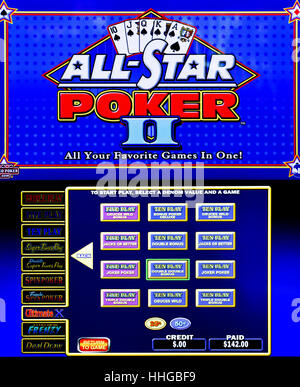 All star poker slot machine