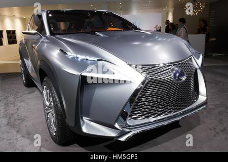 FRANKFURT, GERMANY   SEP 20: Lexus LF NX Concept Car At The IAA